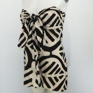 Diane Von Furstenberg Strapless Blouse Size 10